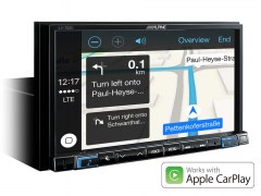 Online-Navigation-System-iLX-702D-Apple-CarPlay-Map